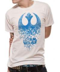 Tričko Star Wars Episode VIII – Jedi Badge Explosion