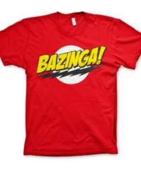Tričko The Big Bang Theory: Bazinga