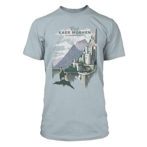 Tričko Zaklínač – Visit Kaer Morhen