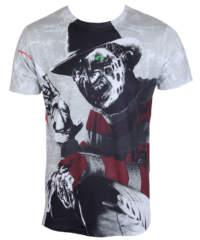 Pánské tričko  Noční můra z Elm Street – Freddy Krueger – Allover – HYBRIS  ...