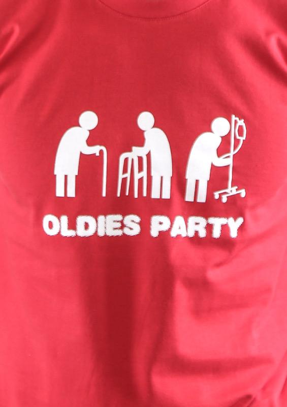 Pánské tričko Oldies party