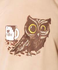 Pánské tričko Sova na kofeinu