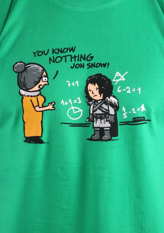 Pánské tričko You Know Nothing