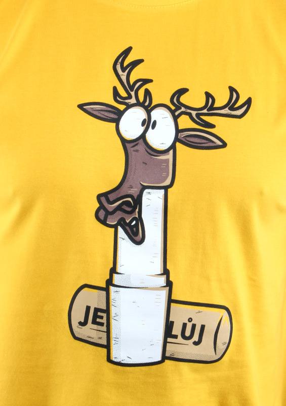 Pánské tričko Jelení lůj