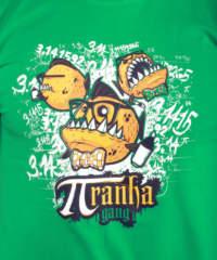 Pánské tričko Piraní gang