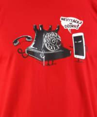 Pánské tričko Telefon v důchodu