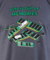 Pánské tričko Uchováno v paměti
