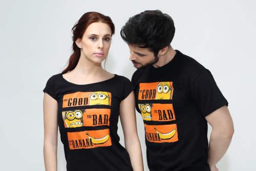 Pánské tričko Hodný zlý a banán