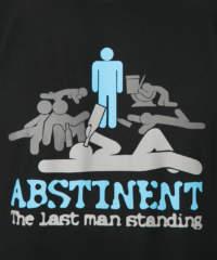 Pánské tričko Abstinent