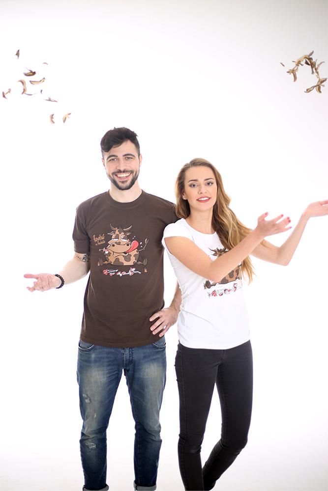 Pánské tričko Hovězí na houbách
