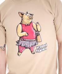 Pánské tričko Vepřová panenka