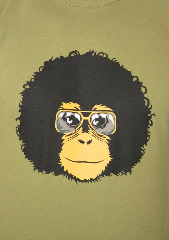 Pánské tričko Retro opičák
