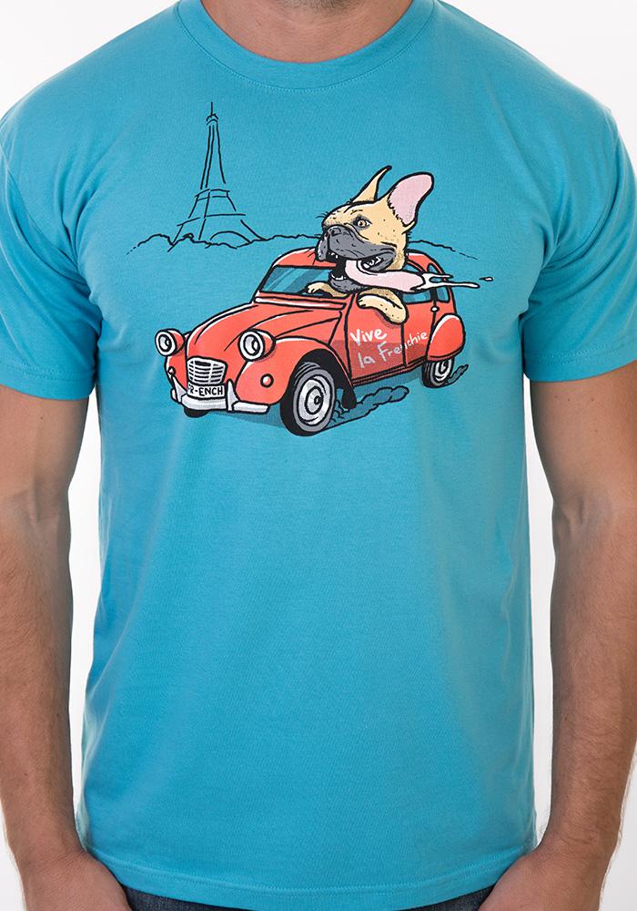 Pánské tričko Francouzský buldoček