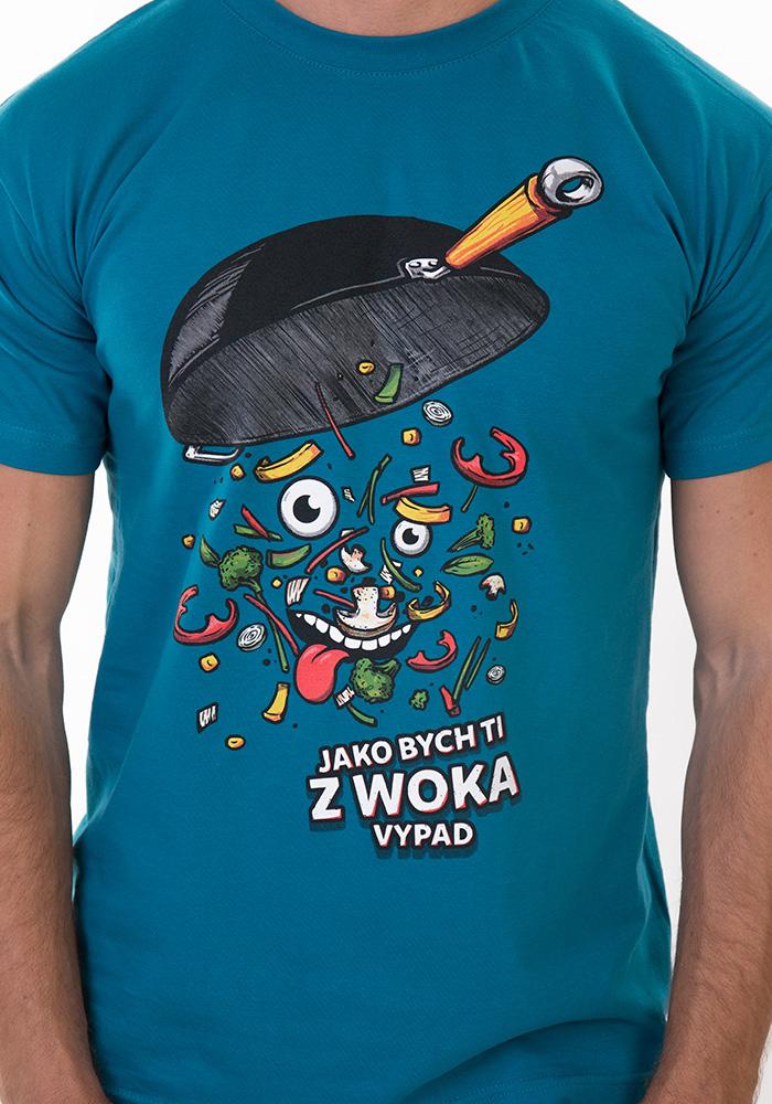 Pánské tričko Pan Wok