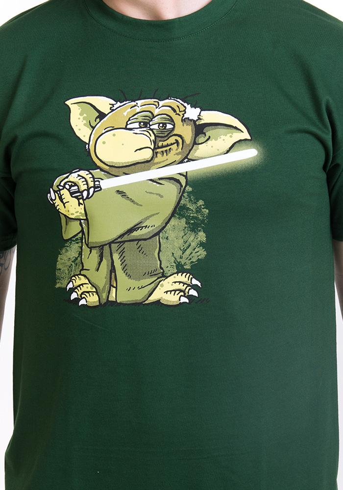 Pánské tričko Yoda v rákosí