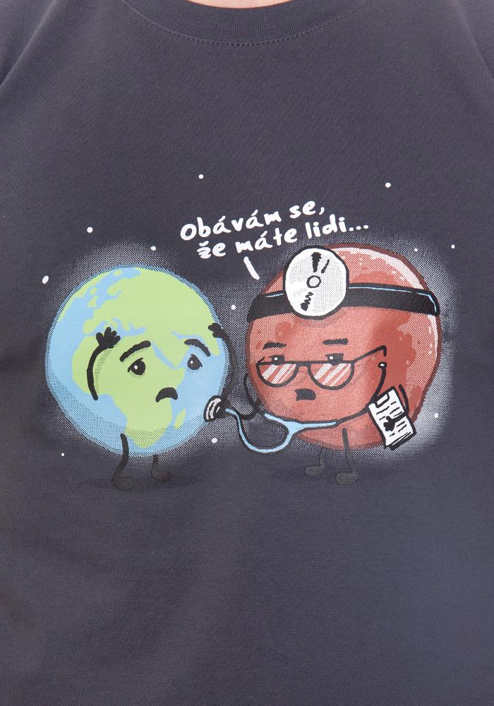 Pánské tričko Diagnóza