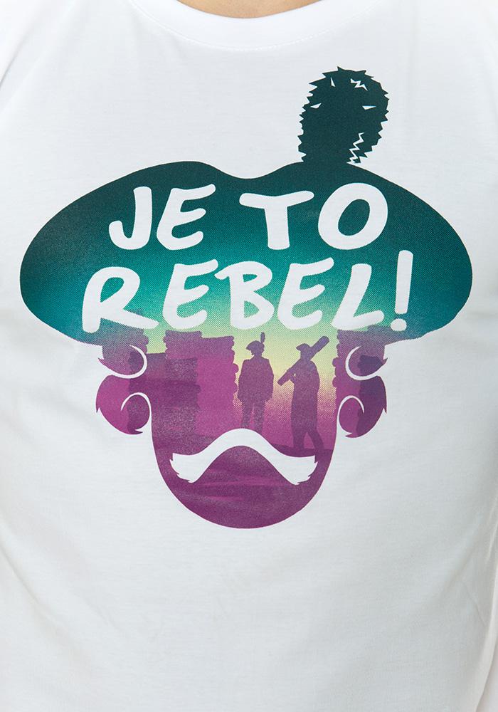 Pánské tričko Je to rebel