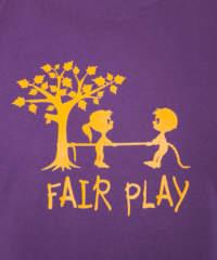 Pánské tričko Fair play