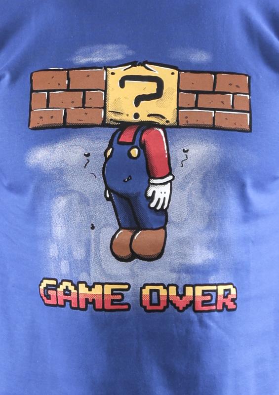 Pánské tričko Game over
