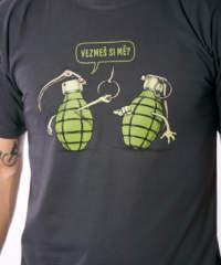 Pánské tričko Granáty