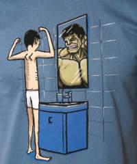 Pánské tričko Hulk
