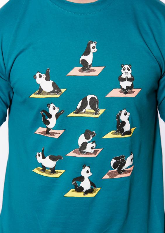 Pánské tričko Pandí jóga