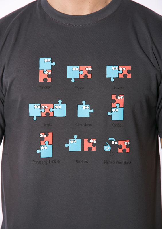 Pánské tričko Puzzlesútra