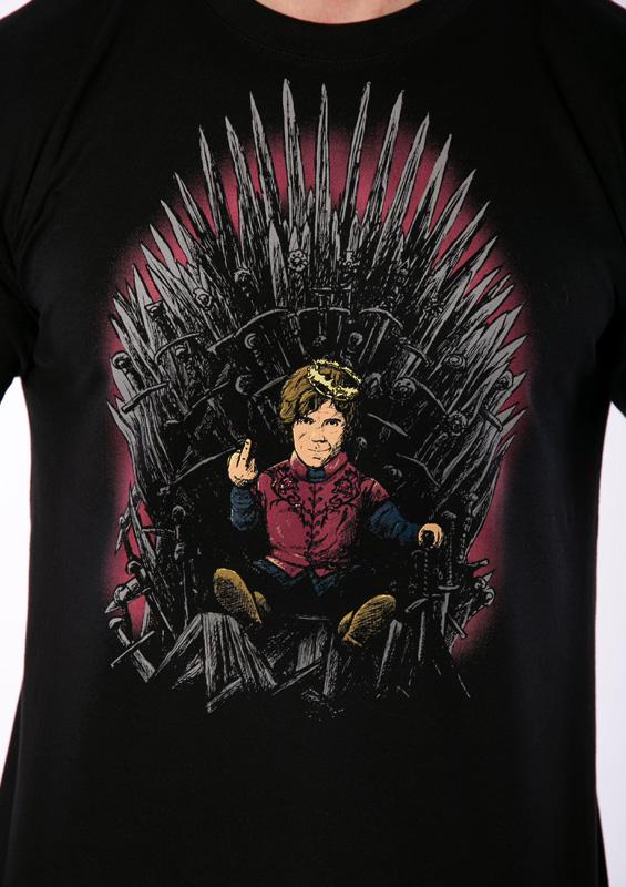 Pánské tričko Tyrion na trůnu