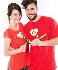 Pánské tričko Tužka a Ořezávátko