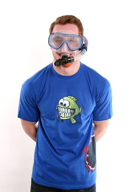 Pánské tričko Hladová rybka