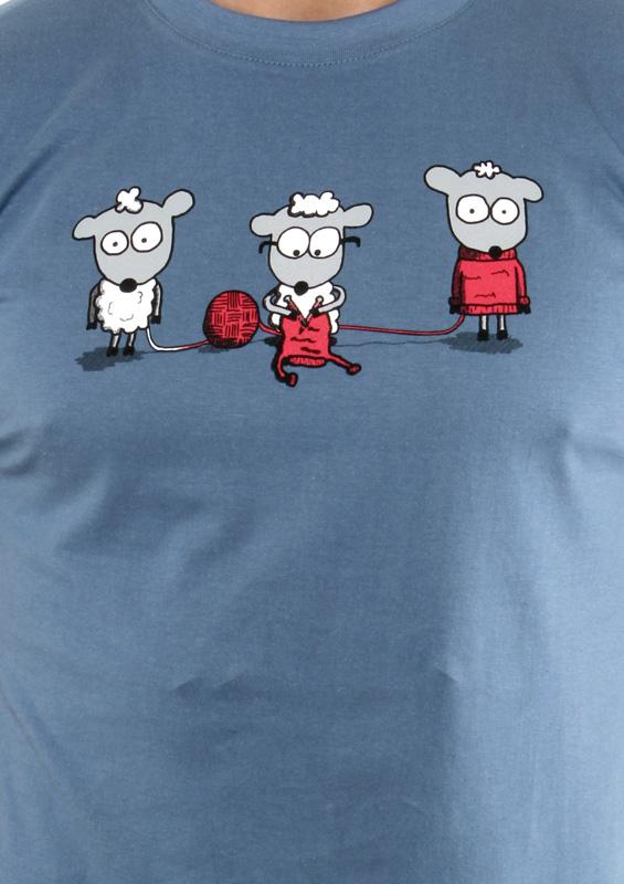 Pánské tričko Koloběh vlny