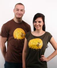 Pánské tričko Včelí univerzita