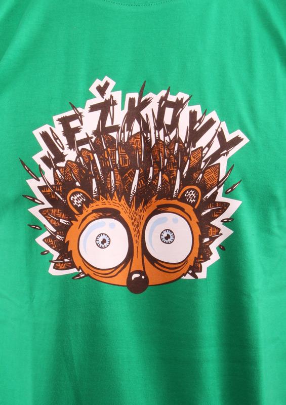 Pánské tričko Ježkovy voči