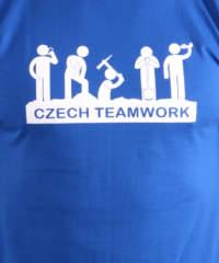 Pánské tričko Czech Teamwork