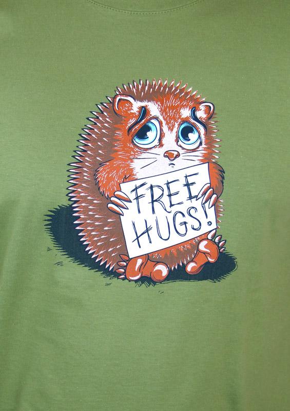 Pánské tričko Objetí zdarma