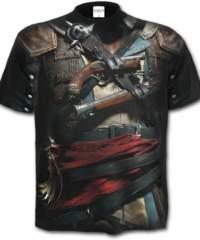 Pánské tričko  SPIRAL – ASSASSIN´S CREED – IV BLACK FLAG  – G151M133