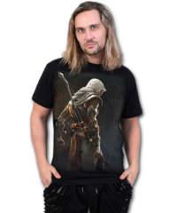 Pánské tričko  SPIRAL – ORIGINS – BAYEK – Assassins Creed – Black – ...