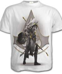 Pánské tričko  SPIRAL – ORIGINS – BAYEK WHITE – Assassins Creed – White  ...