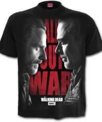 Pánské tričko  SPIRAL – ALL OUT WAR – Walking Dead – Black – G010M127