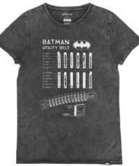 Pánské tričko  BATMAN – ANTRACITE – 172GLBT002-A104