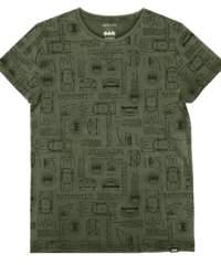 Pánské tričko  BATMAN – OLIVE – 172GLBT003-A000