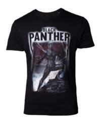 Filmové tričko Black Panther  Band Crest