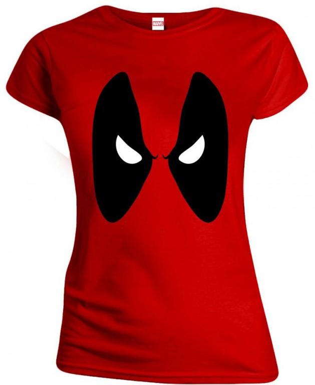 Filmové tričko Deadpool Dámské  – Angry Eyes