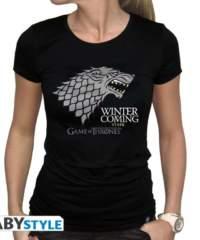 Filmové tričko Game of Thrones Dámské  – Winter is coming