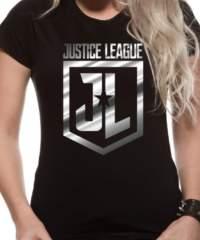 Filmové tričko Justice League Dámské  – Foil Logo