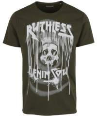 Khaki tričko s potiskem Shine Original
