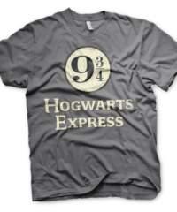Tričko Harry Potter – Hogwarts Express, šedé