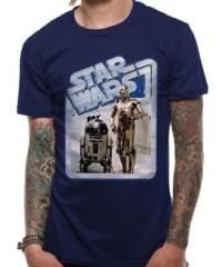 Tričko Star Wars – Droids Retro