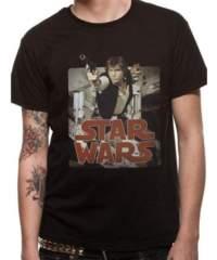 Tričko Star Wars – Han Retro
