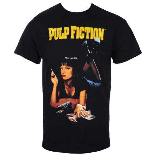 Pánské tričko LIVE NATION Pulp Fiction UMA černá